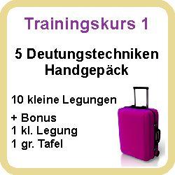 Hier klicken zum Trainingskurs 1 - Deutungstechniken Handgepäck