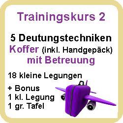 Hier klicken zum Trainingskurs 2 Deutungstechniken Koffer inkl Handgepäck