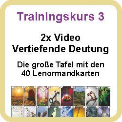 Hier klicken zum Trainingskurs 3 - Vertiefende Deutung in der grossen Tafel (2 Videos)